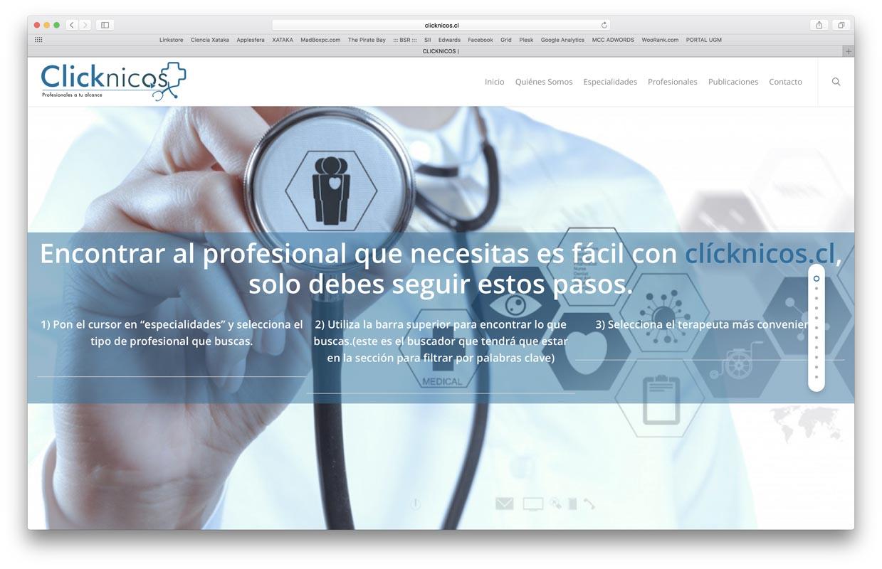 - Clicknicos - Proyectos