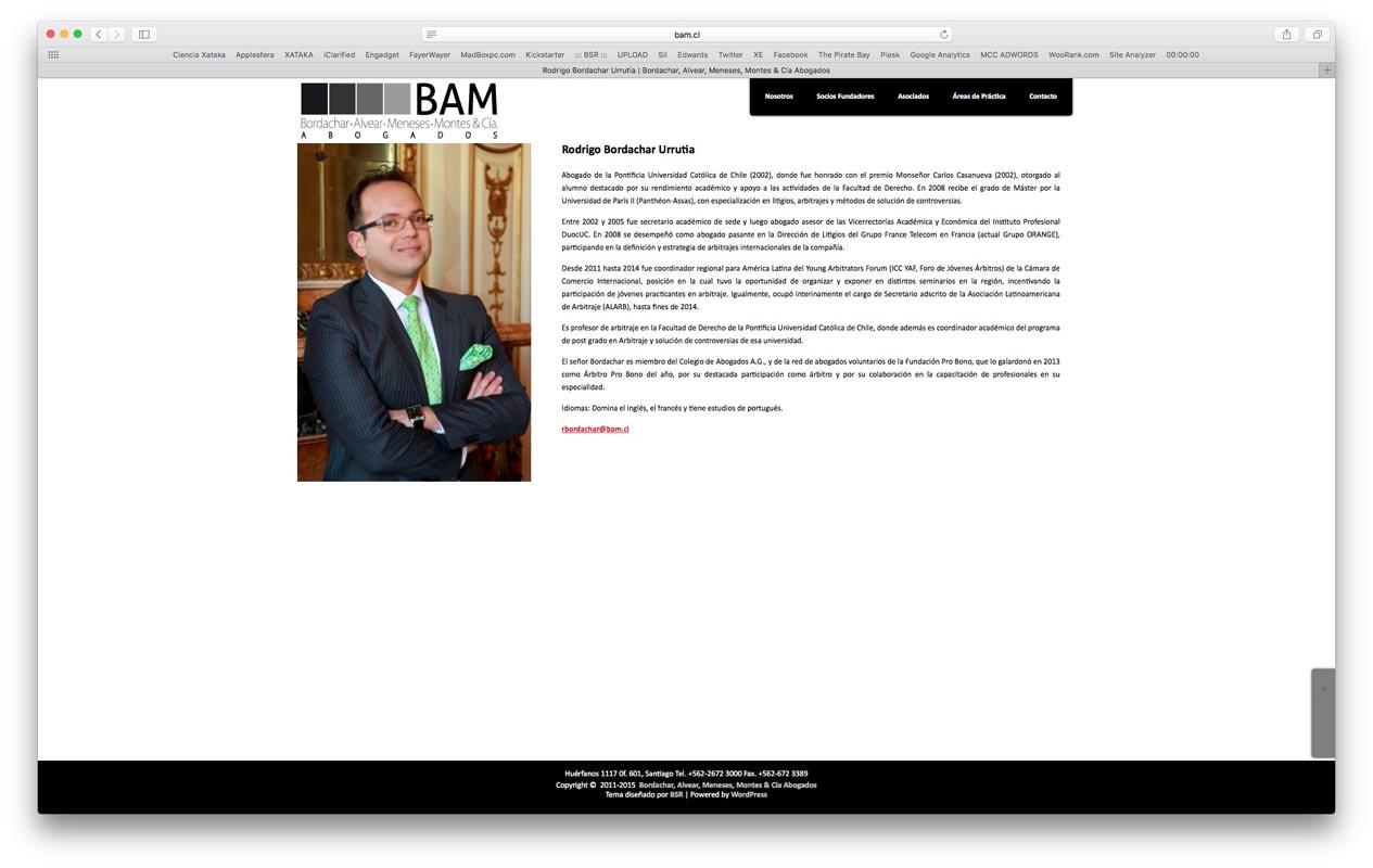 - bam - Proyectos
