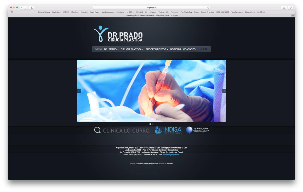 - dr prado - Proyectos