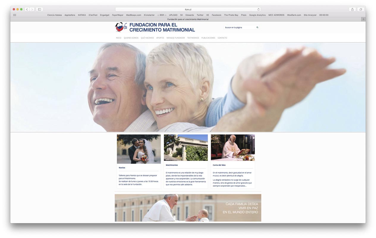 - fundacion crecimiento matrimonial - Proyectos