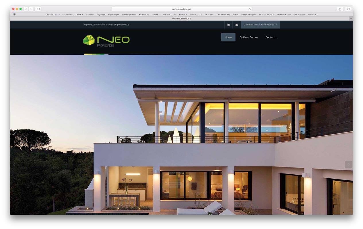 - neo propiedades - Proyectos