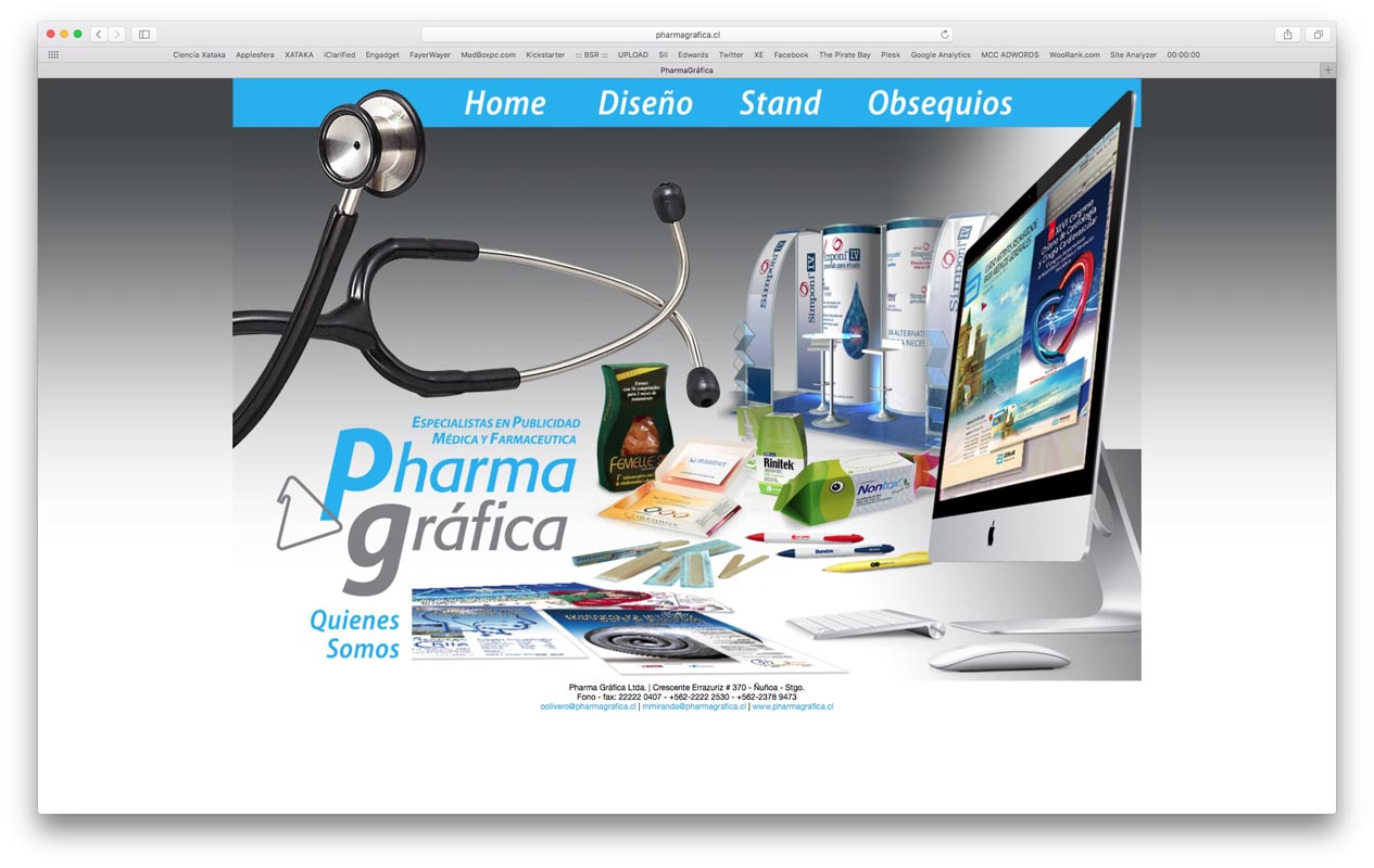 - pharmagrafica - Proyectos