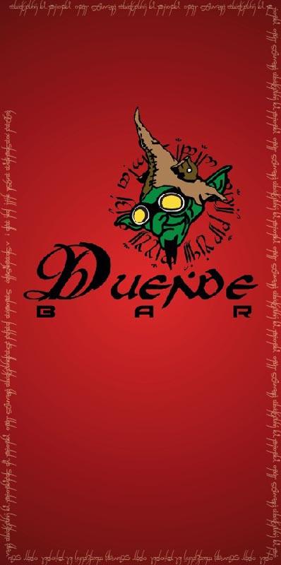 trabajos - menu duende bar - TRABAJOS DISEÑO GRAFICO