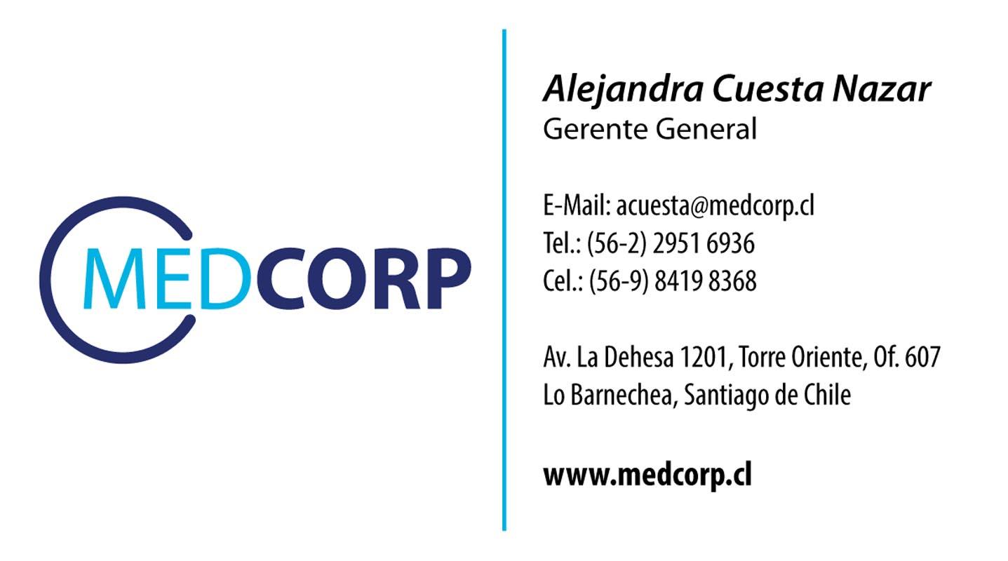 trabajos - tarjetas medcorp - TRABAJOS DISEÑO GRAFICO
