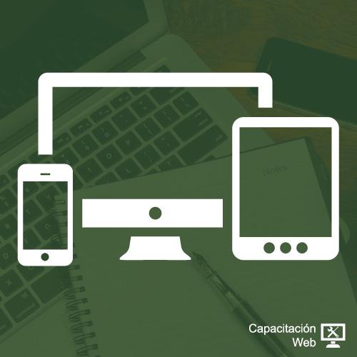 capacitaciÓn - diseno desarrollo sitios responsivo blanco - CAPACITACIÓN